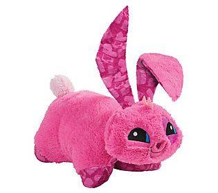 Pillow Pets Animal Jam Bunny Stuffed Animal Plush Toy ...