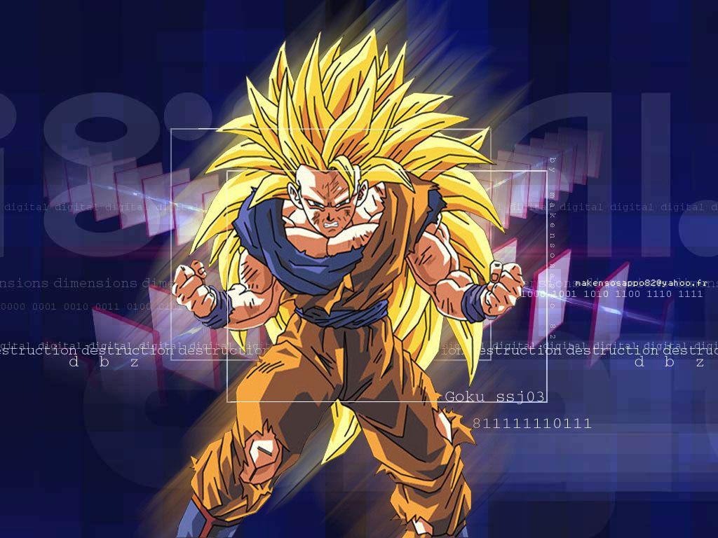 Ssj3 Goku Or Super Saiyan 3 Dragon Ball Z Dragonball Z Wallpaper Goku Super