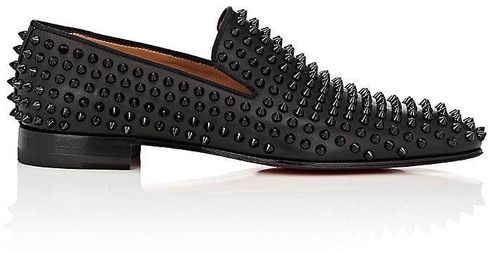 3f4306d007e2 Christian Louboutin Men s Spiked Dandelion Venetian Loafers