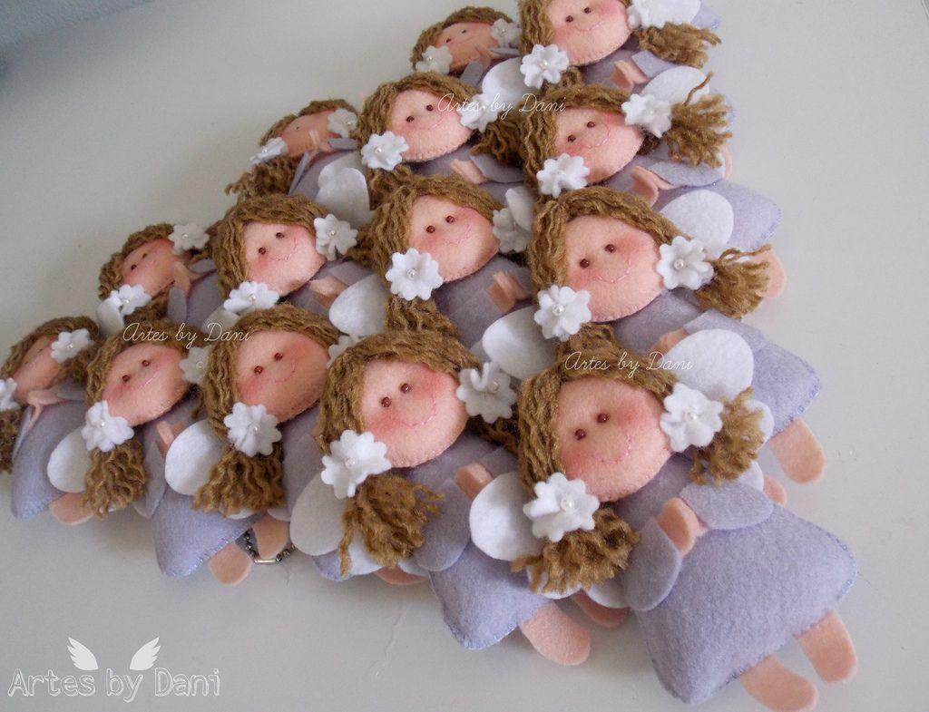 Chaveiros de anjinhas para uma doce lembrança!         Pedido da Keila/RJ