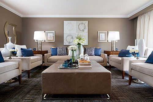 Amazing Jane Lockhart Beige U0026 Blue Living Room   Modern   Living Room   Toronto    By Jane Lockhart Interior Design