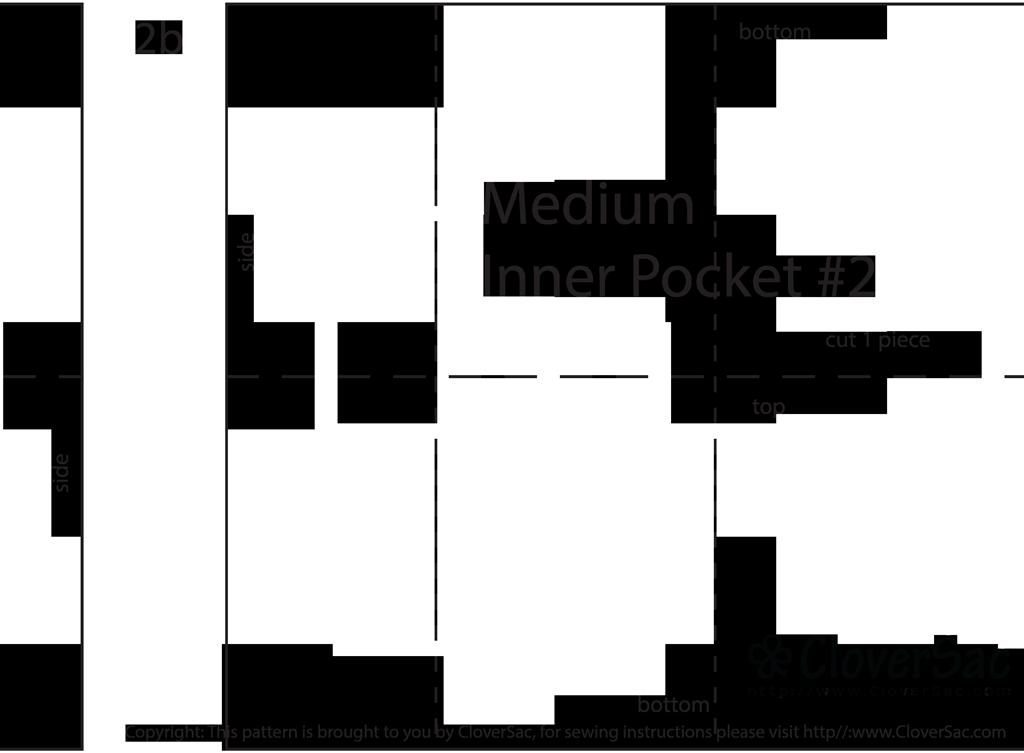 Free Download of Purse Organizer Insert Sewing Pattern | Monederos ...