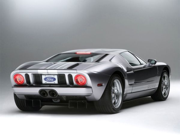 Ford Gt Back