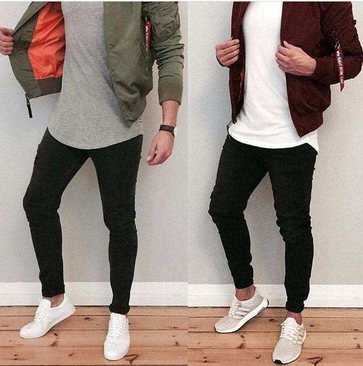 Basic White Shirt Over Black Pants Layout En 2019 Moda