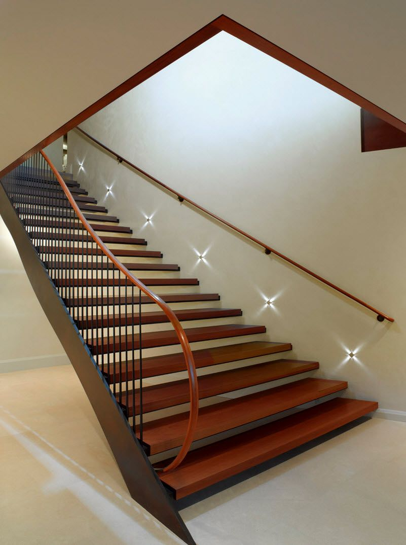 Dise o de escaleras y pasamanos encuentra ideas con los - Peldanos de escaleras ...
