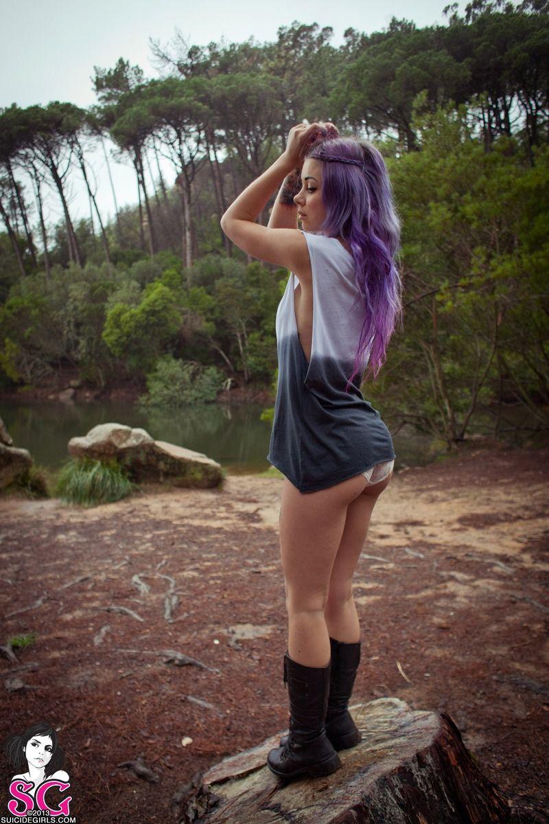 plum hair   Tumblr   Hair trends   Fall-Winter 2014/2015 ...  plum hair   Tum...