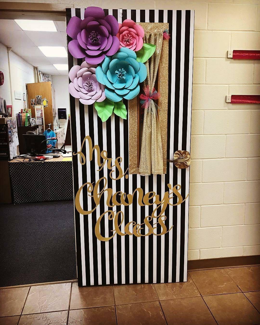The Digital Agency You Need On Instagram Spotted Mrs Chaney S Door Via Thirdgradeteaching H School Doors Door Decorations Classroom Classroom Decorations