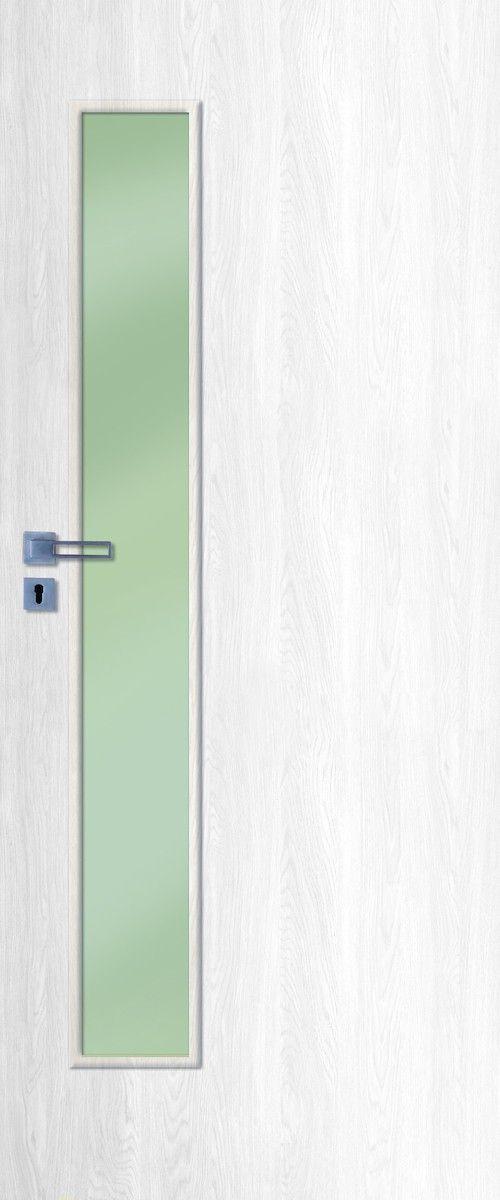 Interior doors NATUREL Deca, 80 cm, left, white pine, …