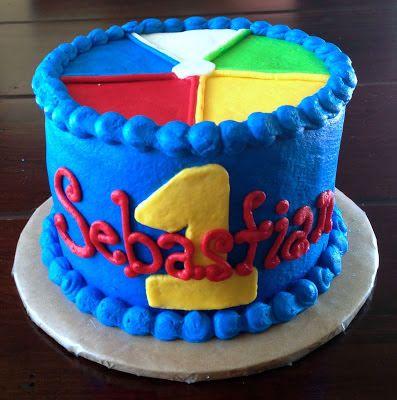 Beach Ball Cake Decorations Katycakes Beach Ball Themed 1St Birthday And Smash Cake  My Baby