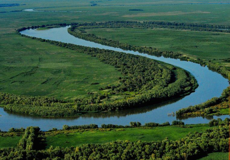 Danube Delta Romania Black Sea aerial Delta Dunarii 1
