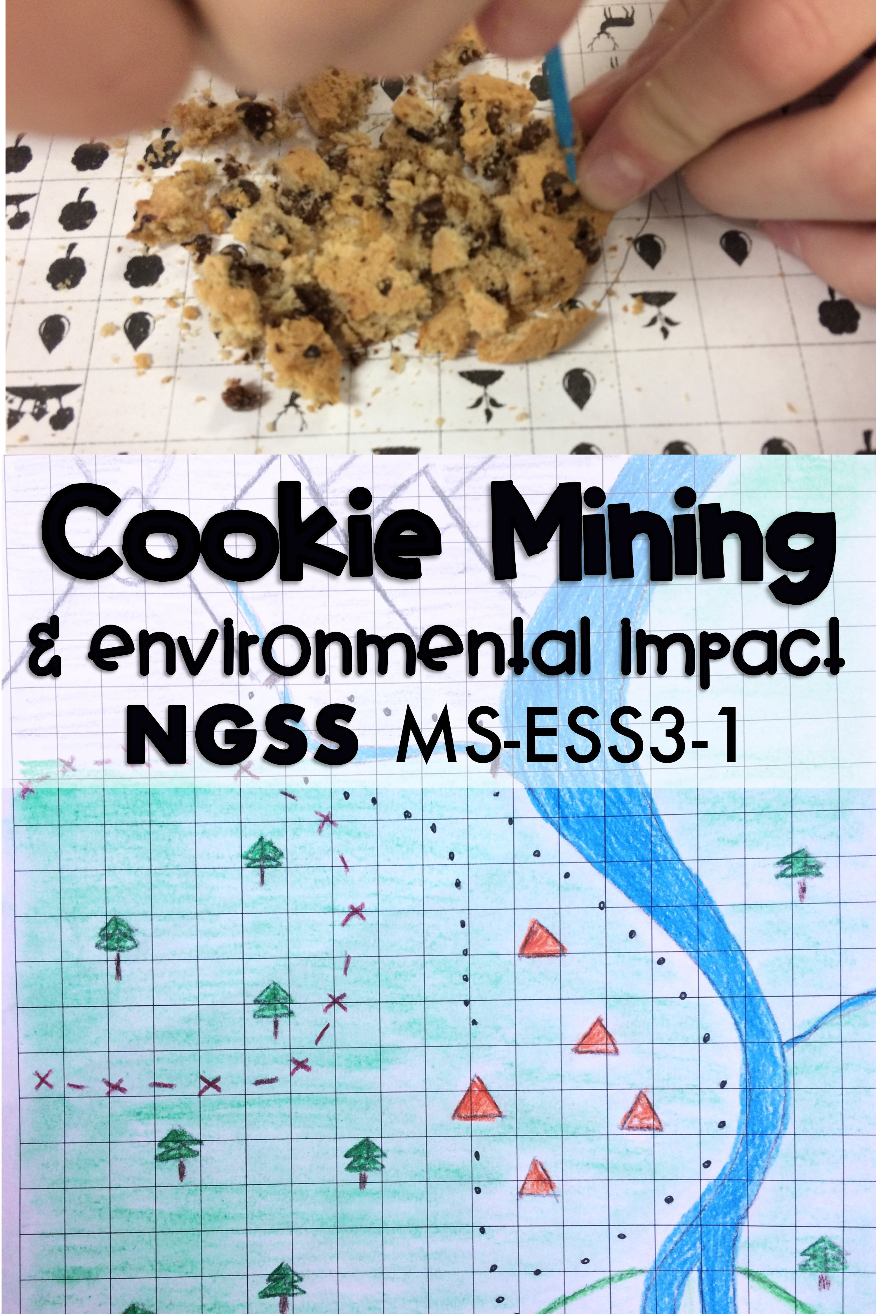 Cookie Mining Natural Resource Activity Ms Ess3 1