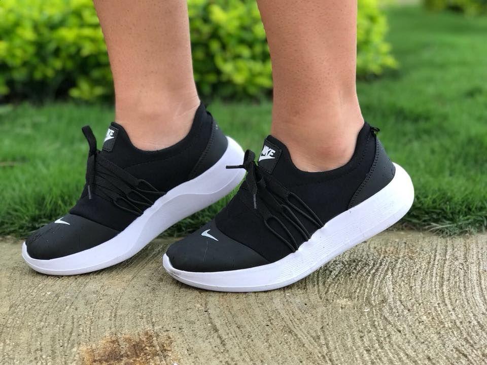 nike zapatos negros mujer