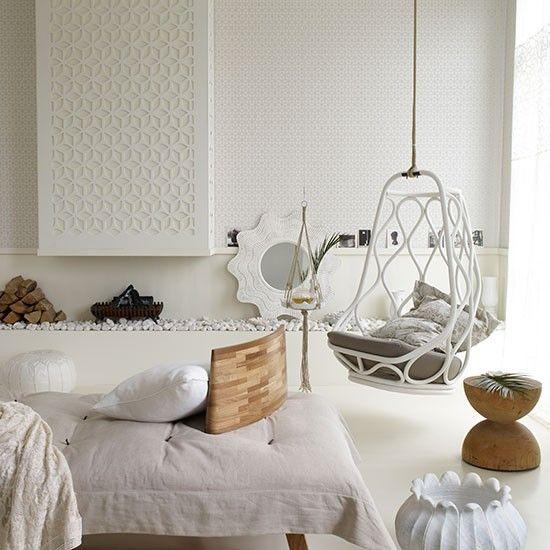 Weiß Wohnzimmer Mit Holz Zubehör