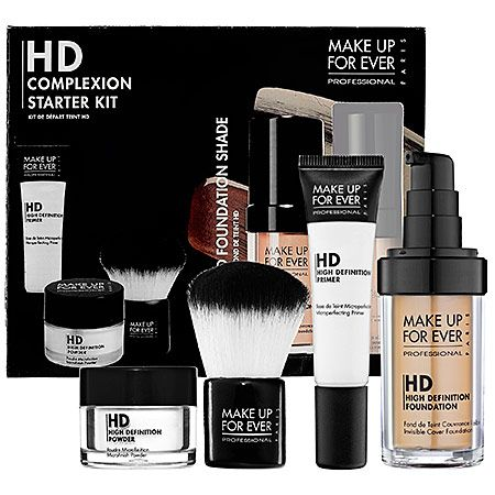 make up for ever hd complexion starter kit  complexion