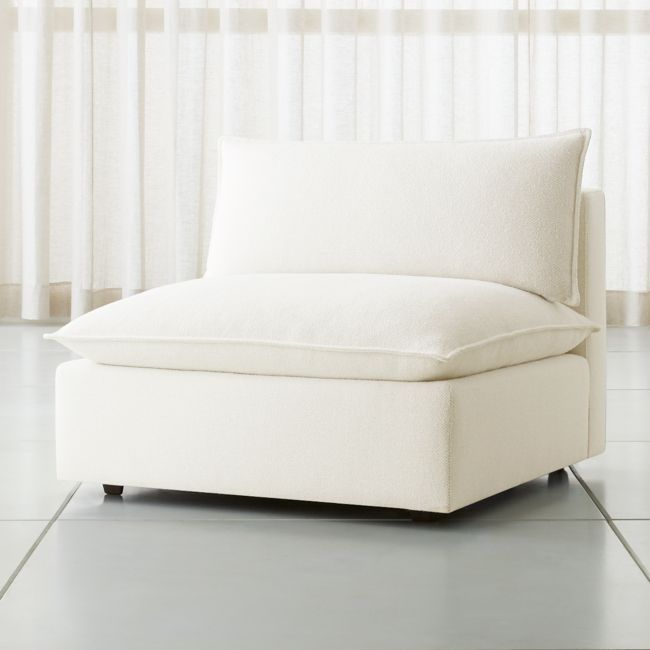 Lotus Modular Armless Low Chair + Reviews