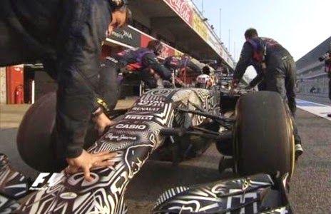 Blog Esportivo do Suíço: Ricciardo bate marcas da véspera e lidera primeiro teste do dia na Espanha