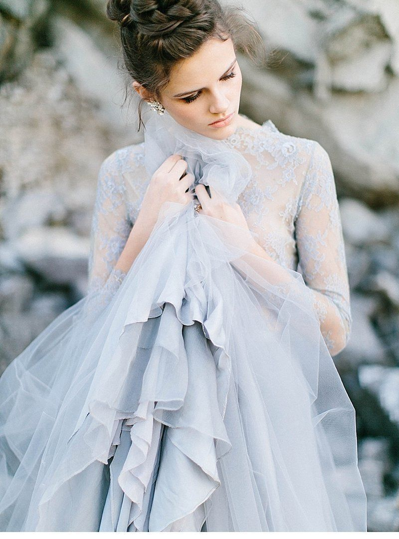 Pin By Lori Loftin On Blue Philocaly Blue Wedding Dresses Bridal