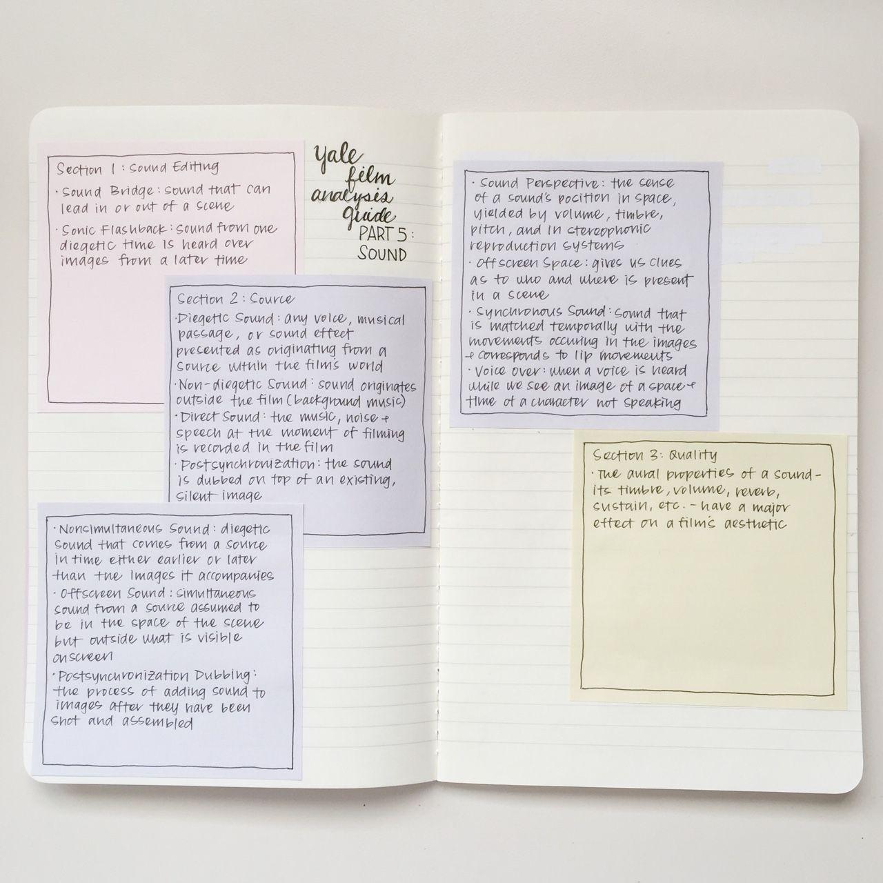 stellestudies yale film guide notes studyblr. Black Bedroom Furniture Sets. Home Design Ideas