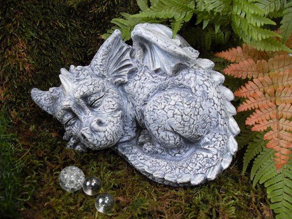 dragon garden statues. Baby DragonLarge Dragon StatueBaby By LaurelsFairyDoors Garden Statues