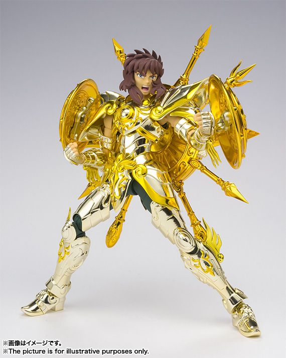 Saint Seiya Myth Cloth EX Dohko de Libra Soul of Gold CS Models Metal Gold