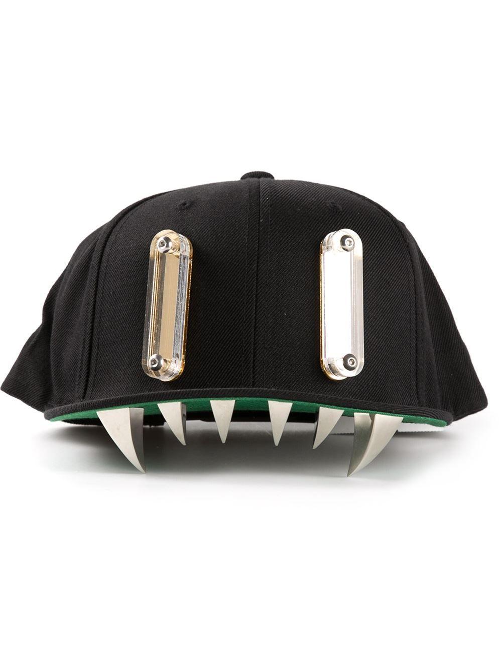 9f3655ad2cd927 Men's Black Chomp Snapback Hat | Zander's Pins | Snapback hats ...