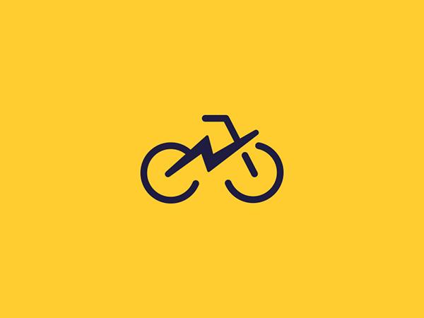 Minimalist Line Art Logo Designs 15 Bike Logos Design Bike Logo Cycle Logo