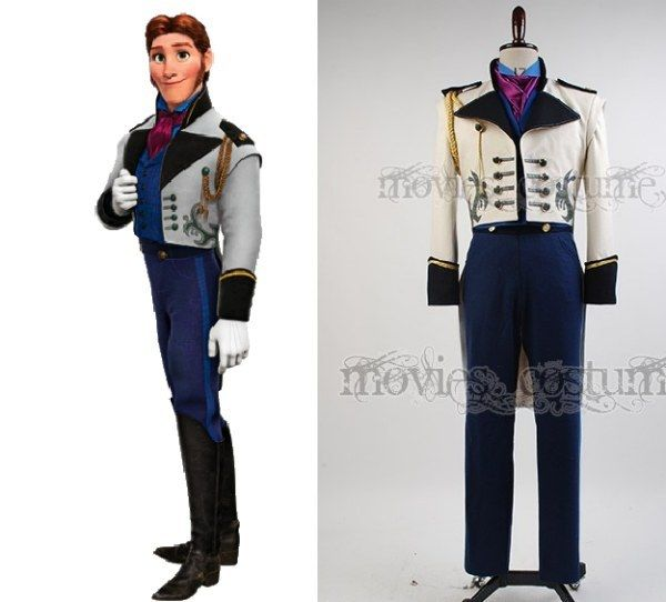Prince Hans, Frozen Prince hans, Costumes and Frozen costume - no cost halloween costume ideas