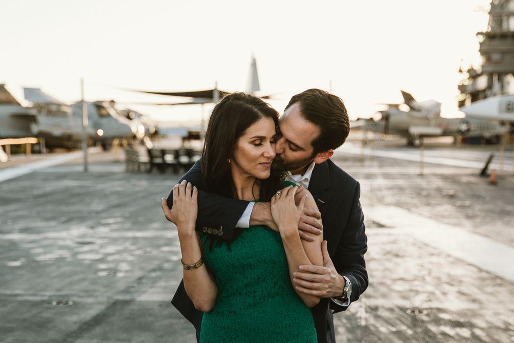Bobby Alyssa S Petco Park Midway Engagement Engagement Photo