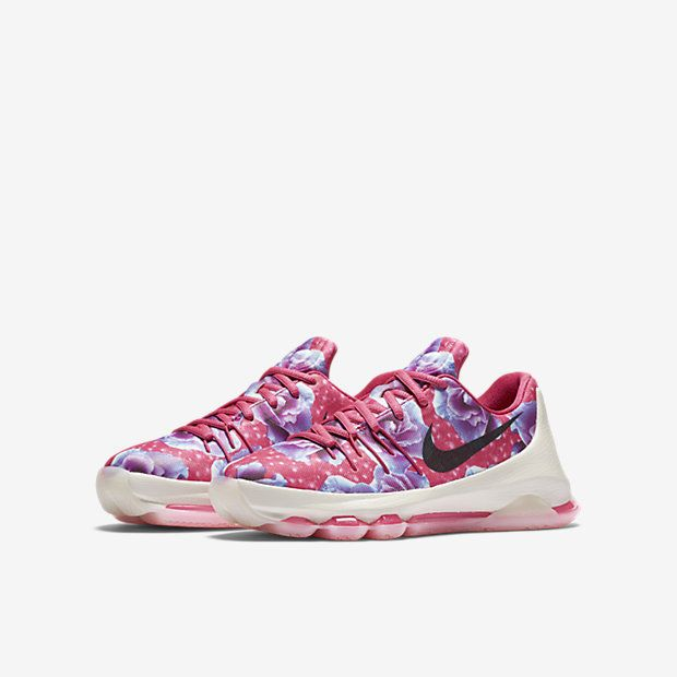 3906b345e7d8 eBay  Sponsored Nike KD VIII 8 Aunt Pearl GS Basketball Shoes Youth Size  6.5 NEW Kevin Durant