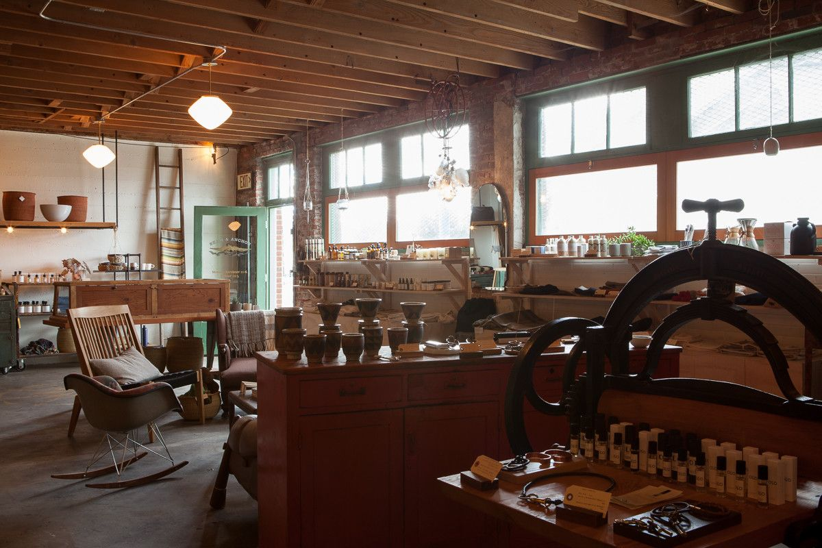 Carefully Curated Retail Store Creative Space Local Makers Beam Anchor Creative Space Ranch House Retail Store