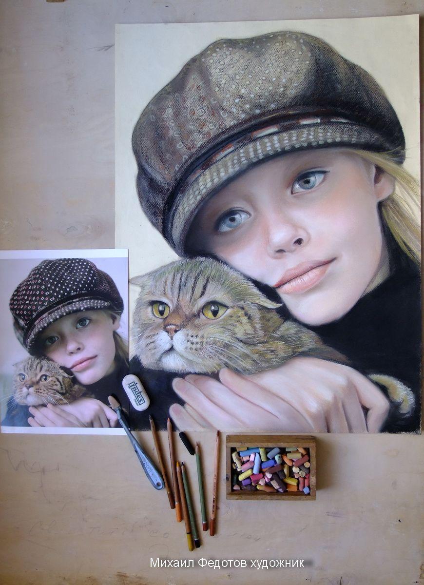 Portrait Mikhail Fedotov artist