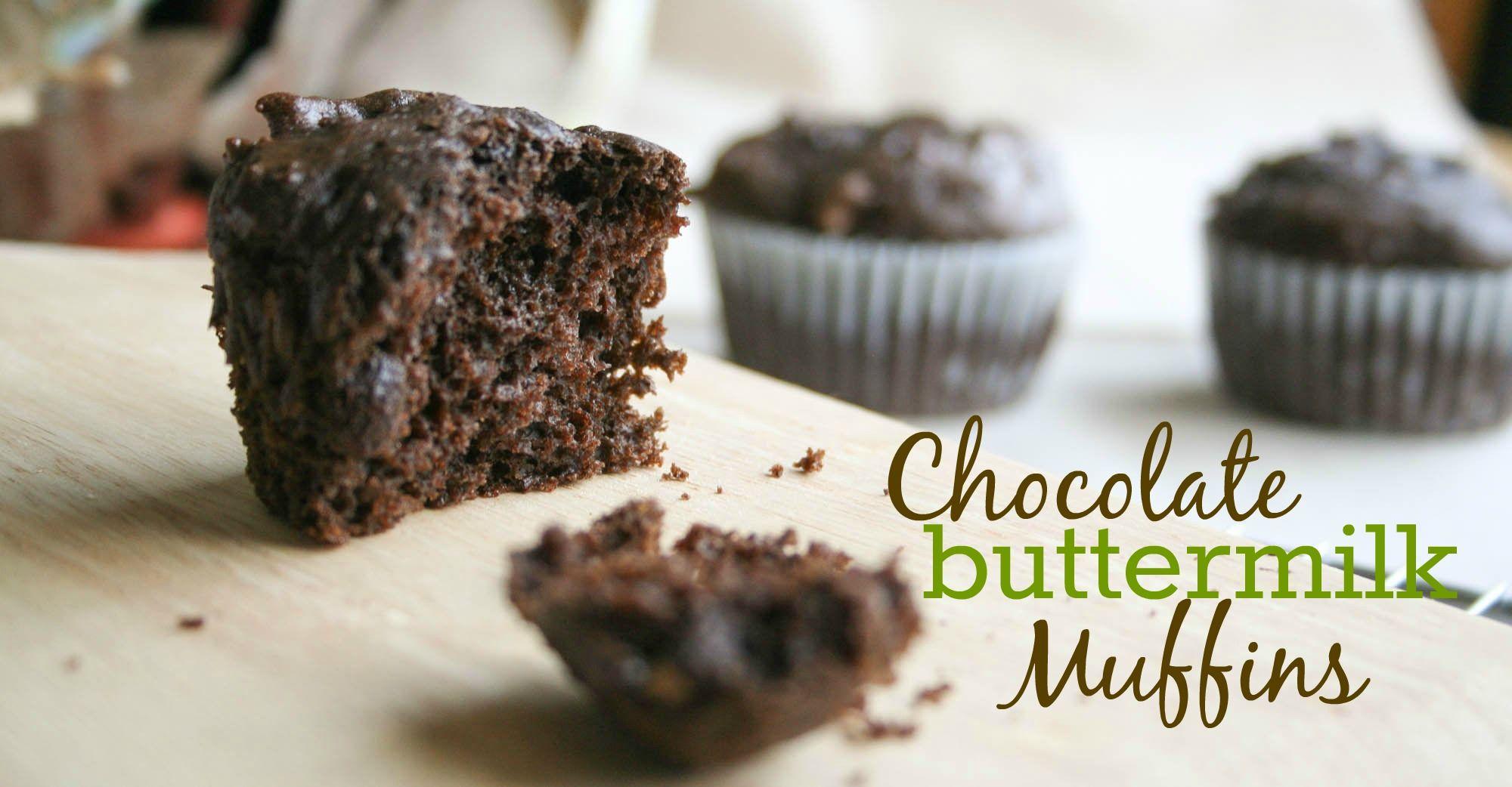 Chocolate Buttermilk Muffins Recipe In 2020 Buttermilk Muffins Buttermilk Recipes Chocolate Muffin Recipe