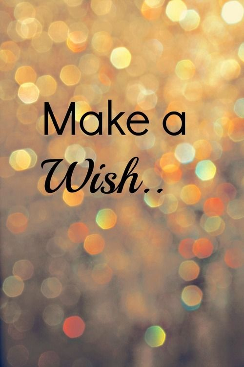 thinking of our make a wish foundation and wishing them all the best
