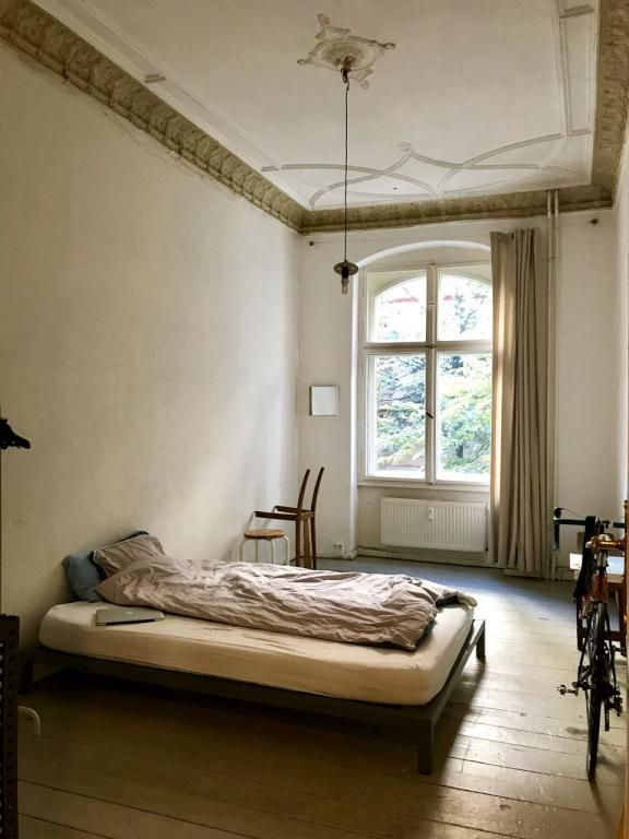 Hier wurden Moderne und Vintage perfekt kombiniert: die Möbel stehen ...