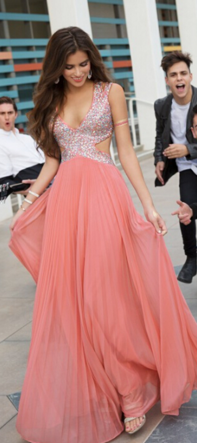 Not saving for the dress, for the hilarious guys in the background ...