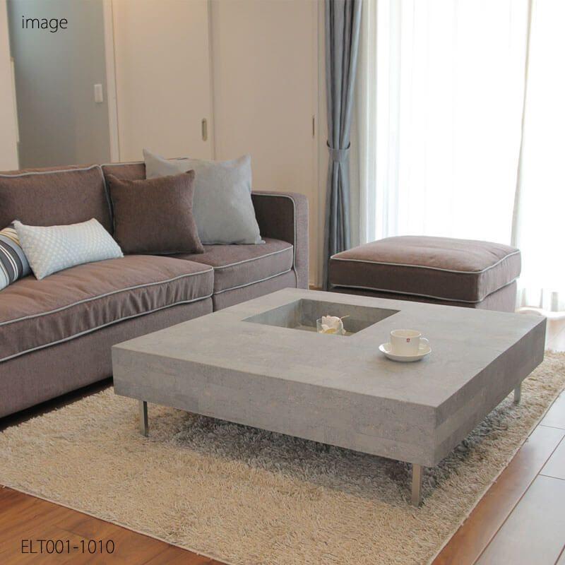 フクラ センターテーブル グレーストーン 石 タイプ インテリア 家具 センターテーブル リビングルームのデザイン
