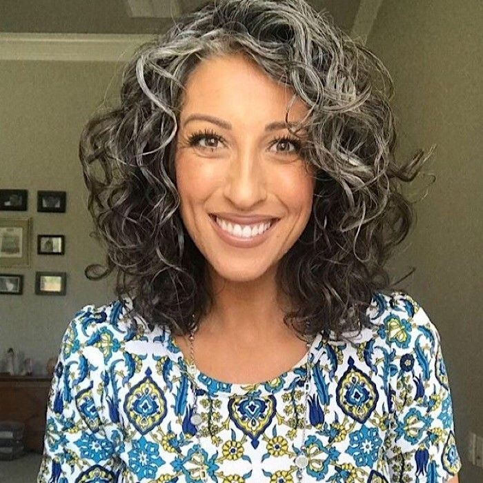 The Beauty of Natural Silver Curls and How to Care for