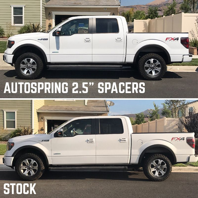 2014 2020 F150 Auto Spring 2 5 Front Leveling Kit Offset