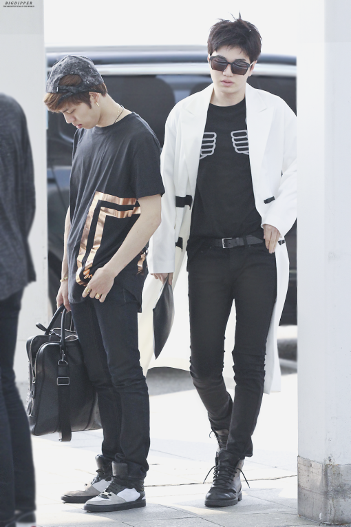 Sungjong Airport Fashion 150509 Infinite Pinterest Airport Fashion And Infinite