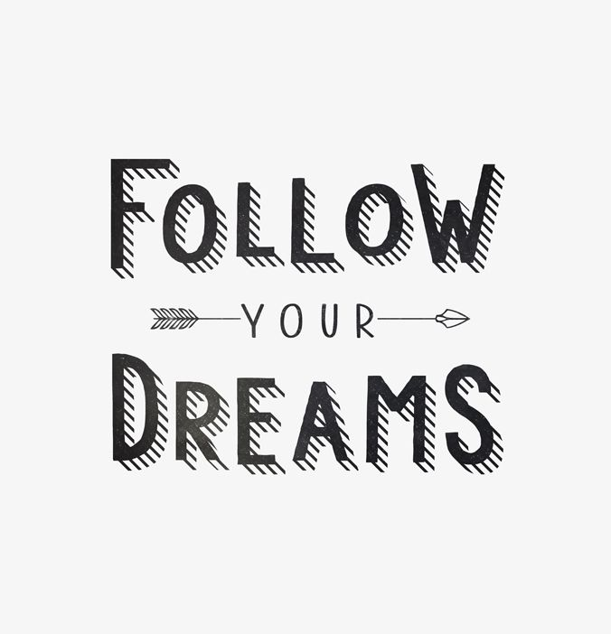 Follow Your Dreams Art Print By Kind Of Style Ralph S