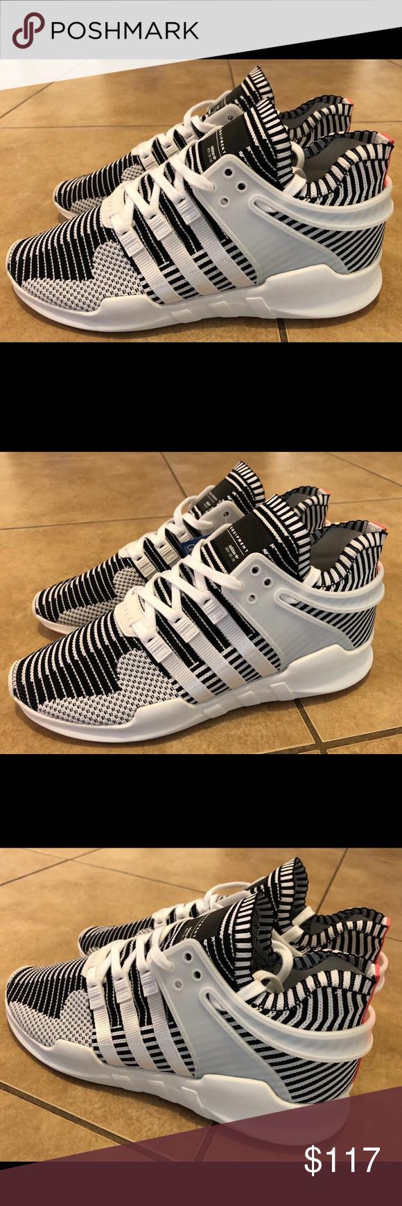 Adidas EQT Support ADV Zebra zapato Adidas EQT de Apoyo ba7496 talla 12