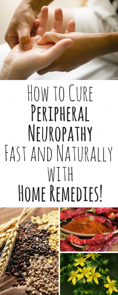 How to Cure Peripheral Neuropathy Fast and Naturally with Home Remedies #naturalcures