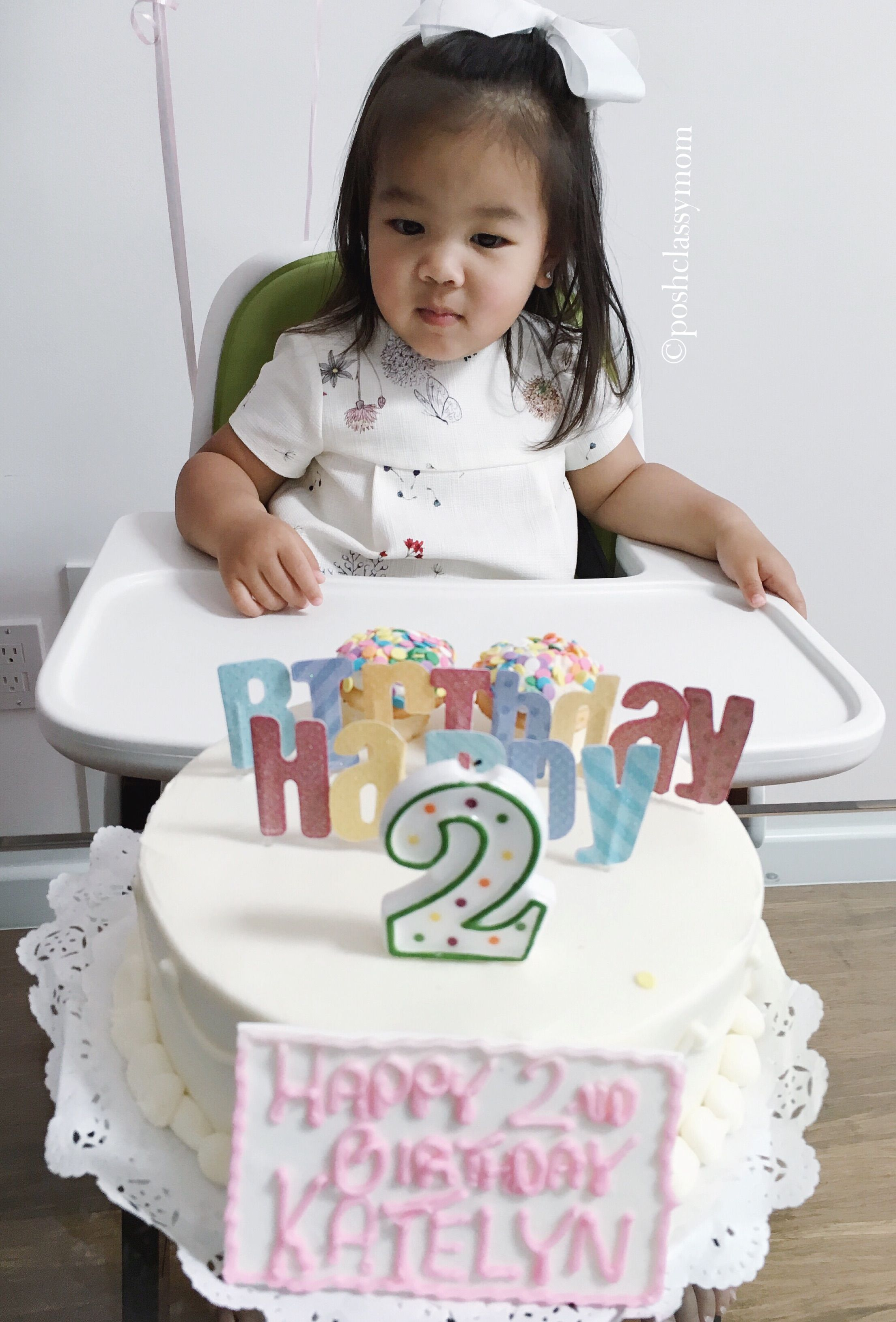 Letter To My Daughter On Her 2nd Birthday High Tea At