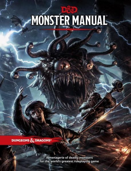 Dungeons /& Dragons Players Handbook Hardcover Fifth Edition