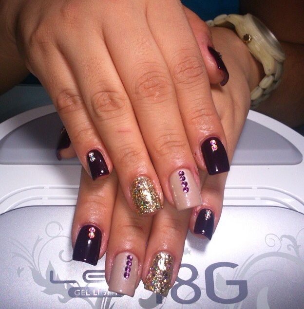#Gelish #diseño #art #love #nails #uñas #gel #perfect ...