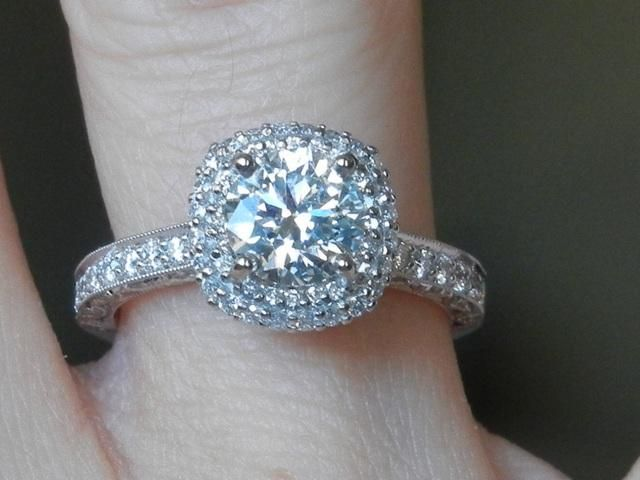 Cushion Cut Engagement Rings From Kay Jewelers 48