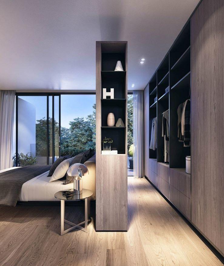 comment optimiser l 39 espace pour cr er un dressing. Black Bedroom Furniture Sets. Home Design Ideas