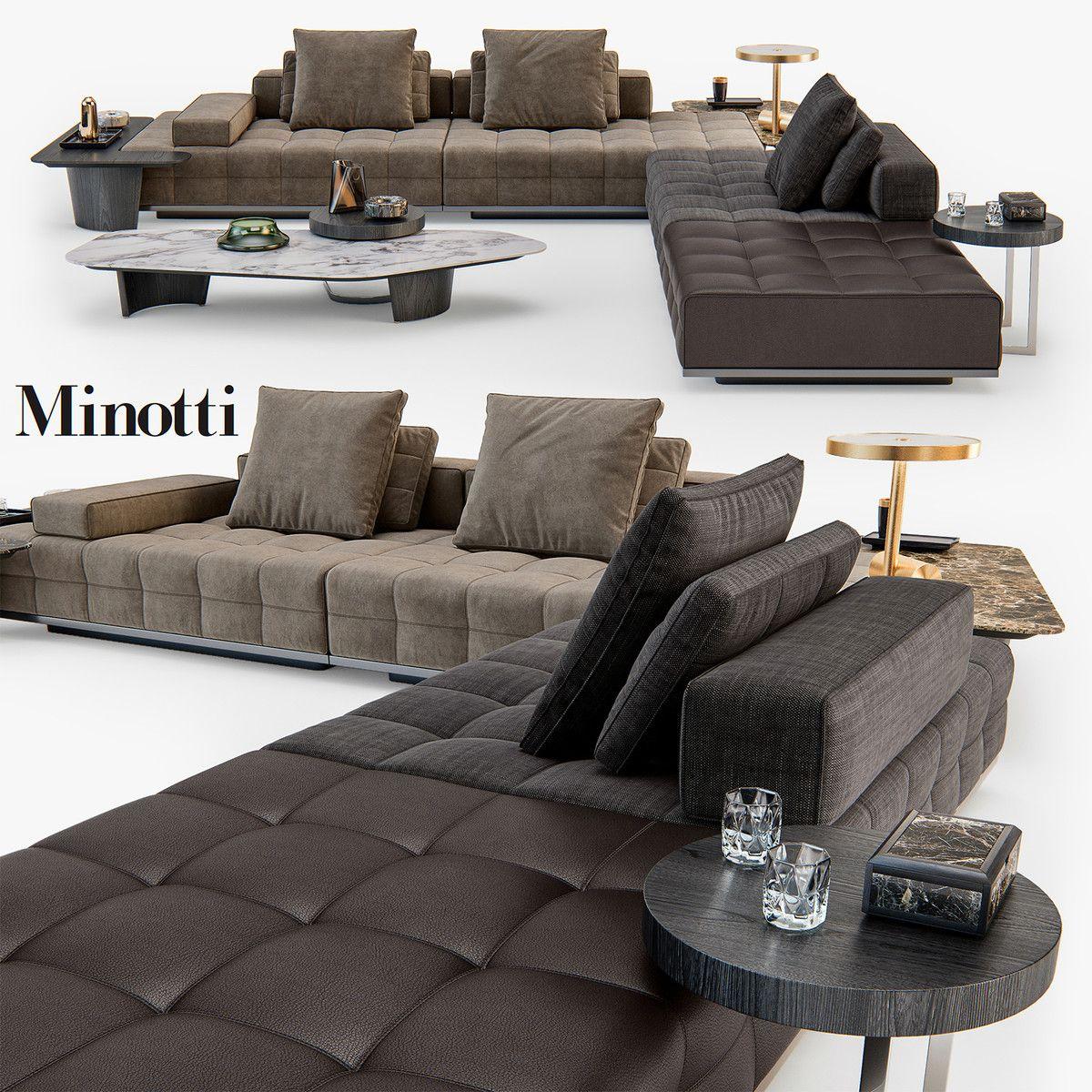 Minotti Lawrence Clan Seating Model