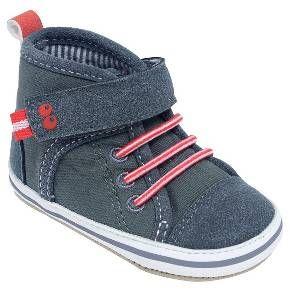 Baby Boys' Grey High Top Sneaker