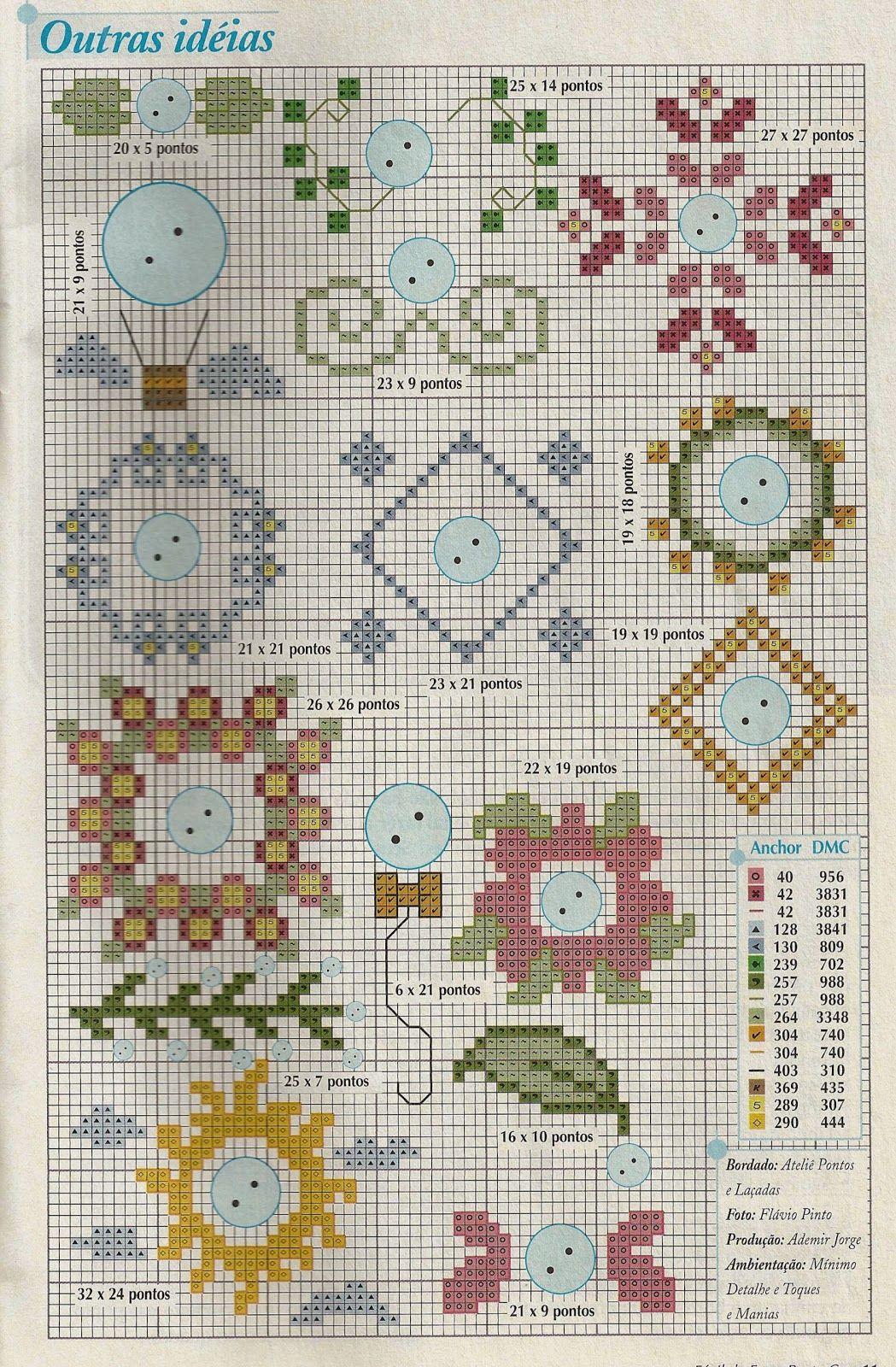 Blog com uma coleção de gráficos de ponto cruz e para quem ama a ...